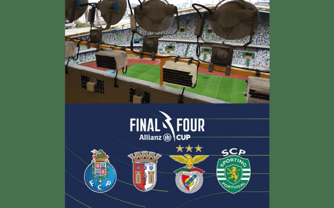 Reparações das instalações técnicas do Estádio Municipal de Leiria para a edição 2020-21 da Final Four